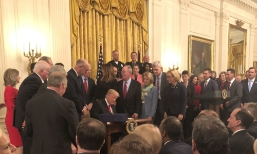 Dr. John Rosa honored at White House